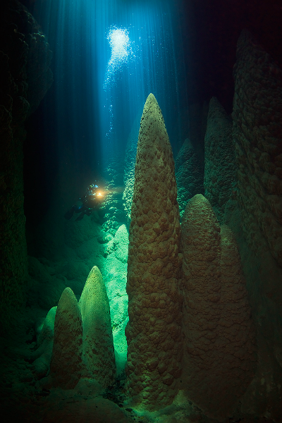 Largest underwater panoramic image 2
