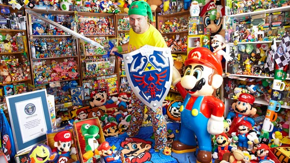 Record holder profile video: Brett Martin and the Largest Collection of Videogame Memorabilia