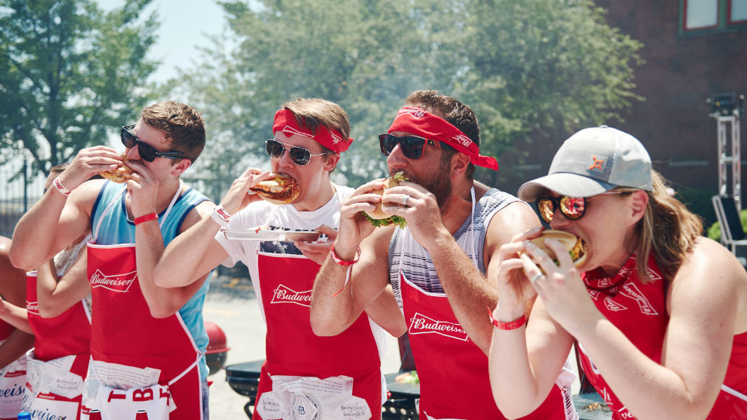 Budweiser sets grilling record to honour America's Fourth of July celebrations
