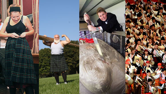 Burns Night related records: From the largest haggis to the most kilts put on in a minute