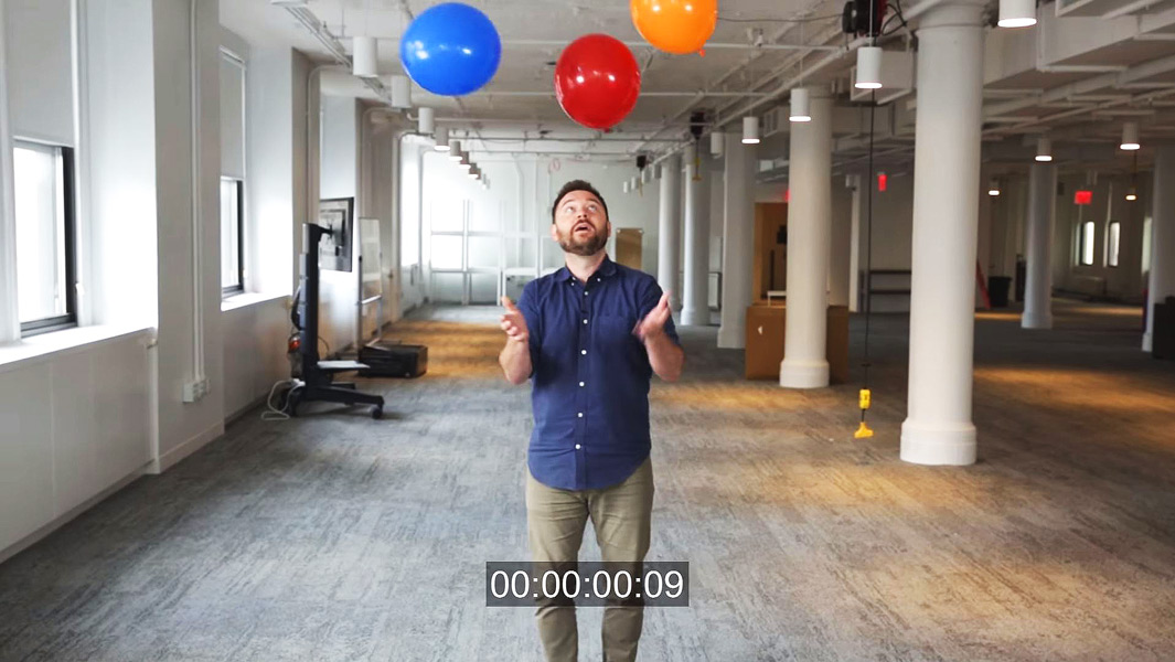 Frantic balloon record broken by BuzzFeed