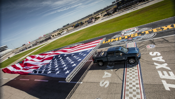 Chevrolet drives its way into the record books with spectacular attempt at largest banner flown by a vehicle title