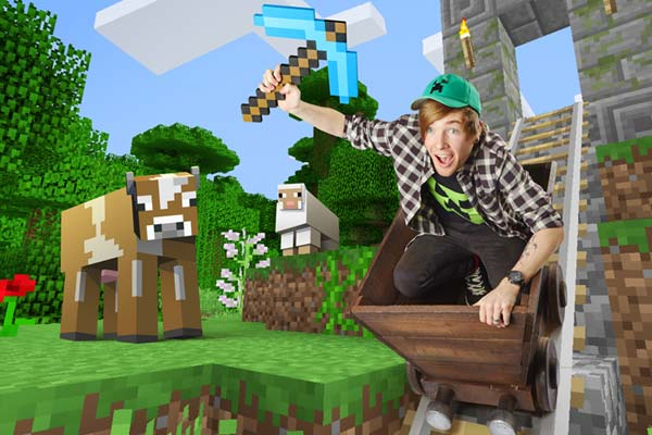 DanTDM Most views for a dedicated Minecraft video channel