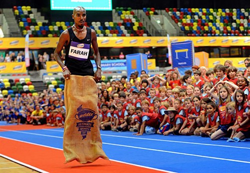 FARAH_RECORD_on -track -sack -race -guinness -world -records