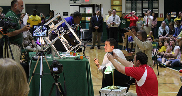 fastest-robot-to-solve-a-rubiks-cube-event