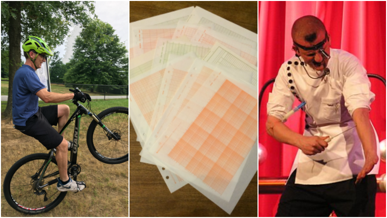 Facebook Live Rewind: Electric currents, graph paper, and bicycle wheelies