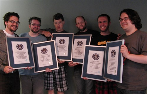 Game Informer Editors notch up Six Gaming World Records #2