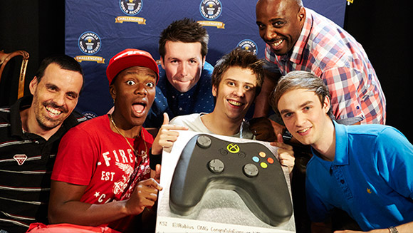 A record-breaking gaming live stream for YouTube's Geek Week!