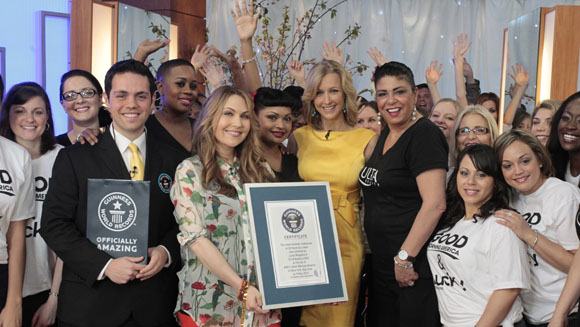 Video: World records tumble on Good Morning America