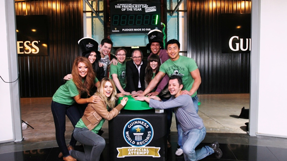 Celebrate St. Patrick's Day with a Guinness World Records title