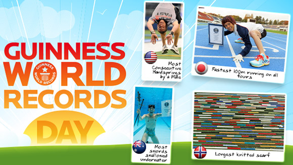 Recapping Guinness World Records Day 2013