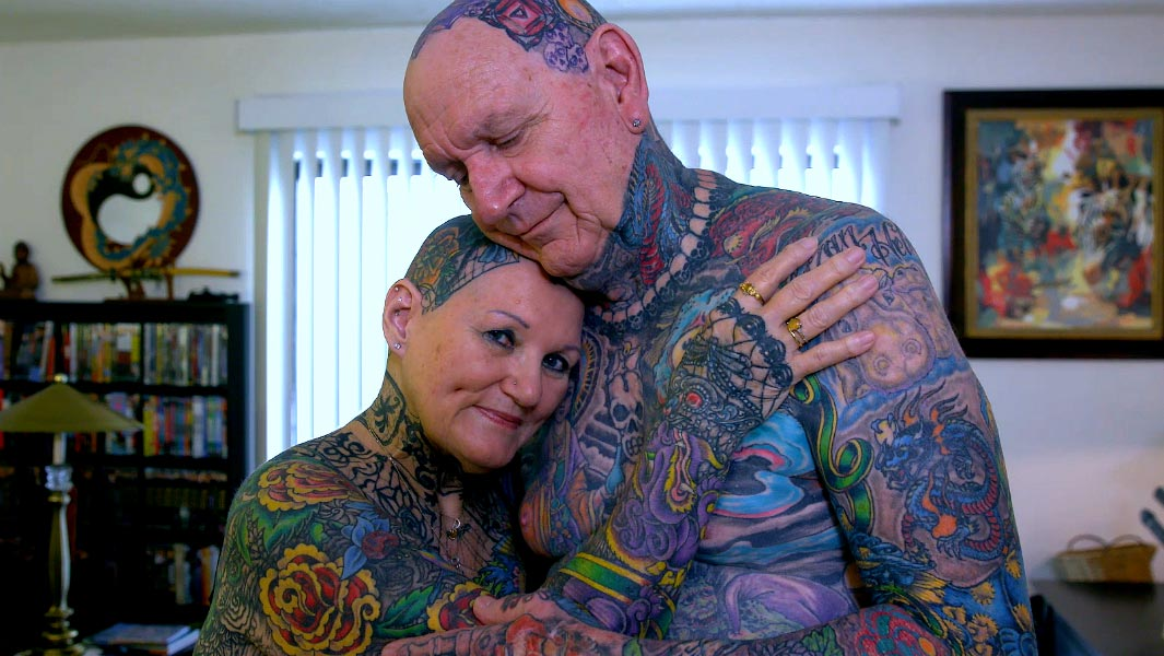 Video: An up-close look at the world's most tattooed senior citizens