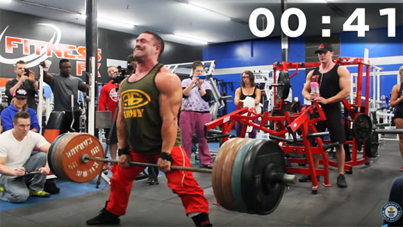Video: Watch Canadian bodybuilder destroy world record for heaviest sumo deadlift