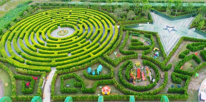 Largest hedge maze 5