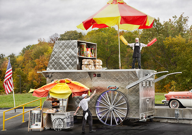 Largest Hot Dog Cart Guinness World Records 2016