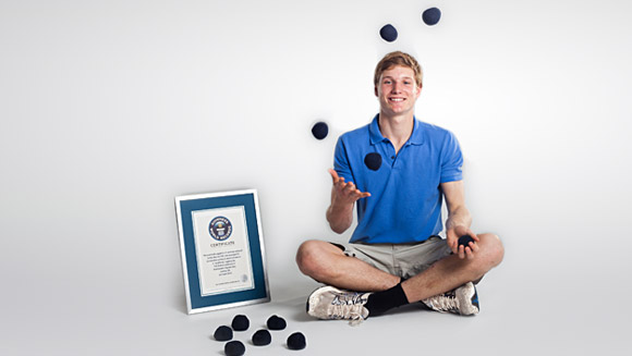 Record Holder Q+A: Alex Barron, Most Objects Juggled