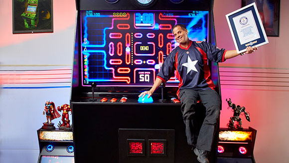Behind the Scenes Video: The world's Largest arcade machine