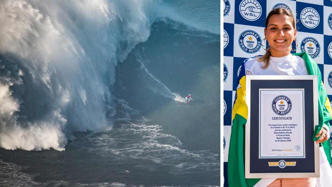 299a456a0851 68-ft wave surfed by Maya Gabeira confirmed as largest ridden by a ...