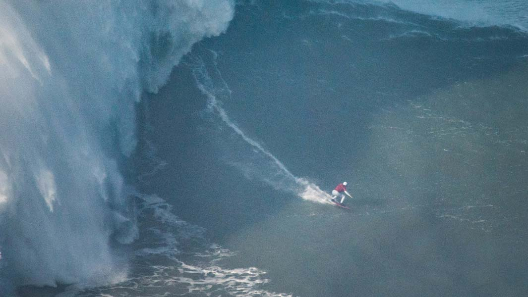 68-ft wave surfed by Maya Gabeira confirmed as largest ridden by a woman as she receives two awards