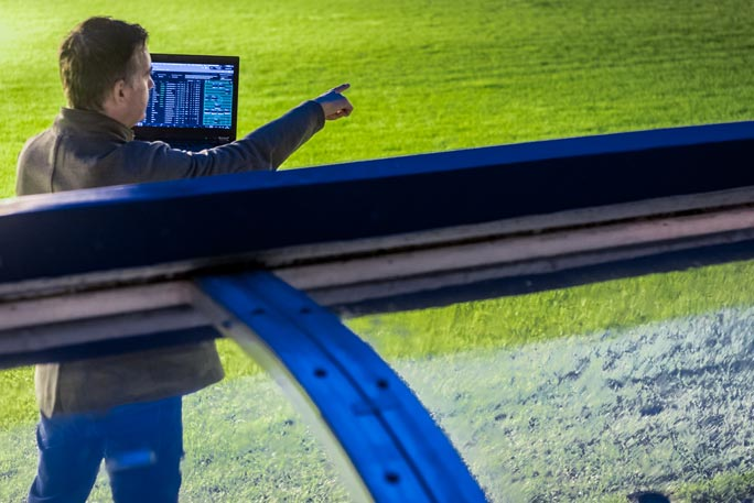Michał's touchline skills in Football Manager have brought him trophy after trophy. Photo: Marcin Rajczak