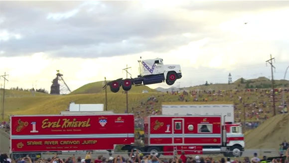 Video: Has this incredible truck jump landed a new record for daredevil Greg Godfrey?