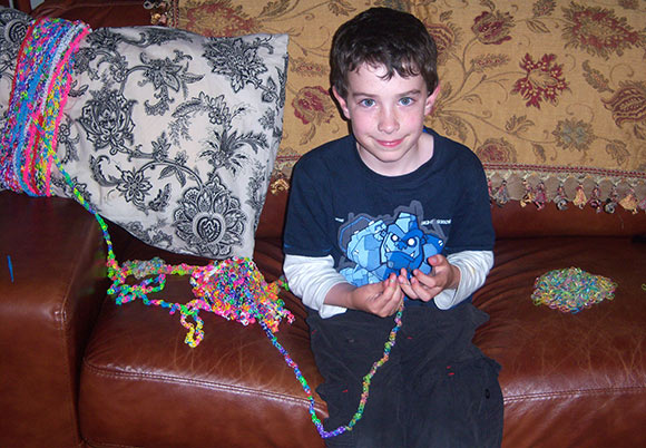 Loom Band Record For Longest Rubber Band Bracelet Achieved