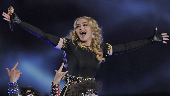 Madonna beats Elvis's No.1 albums record as MDNA tops UK chart
