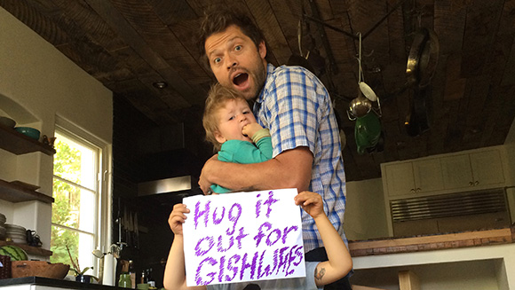 Misha Collins and friends worldwide set new record for online hugs
