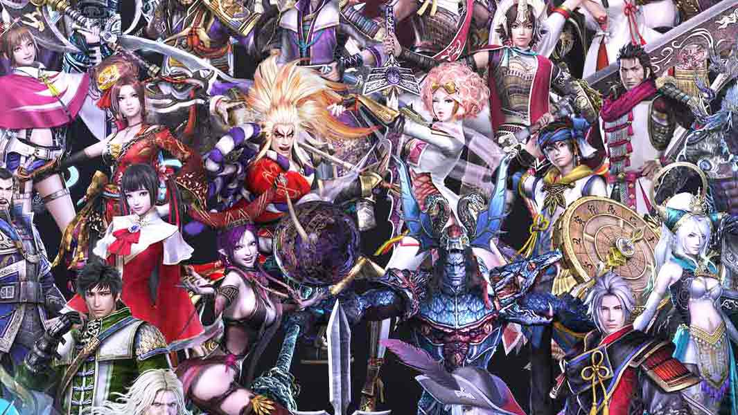 Most playable characters in a hack and slash videogame