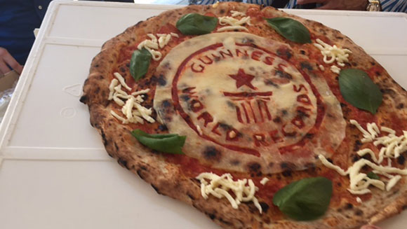 most pizzas made - gwr