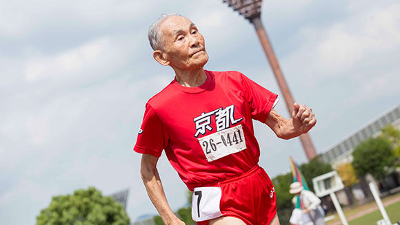 World's oldest competitive sprinter races his way to new world record at the age of 105