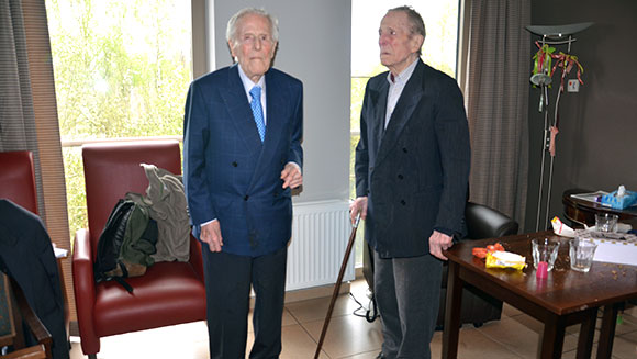 Belgian centenarians confirmed as oldest living male twins