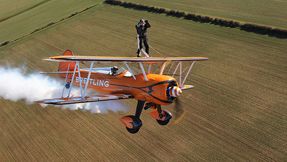 Classics: Oldest wing walker
