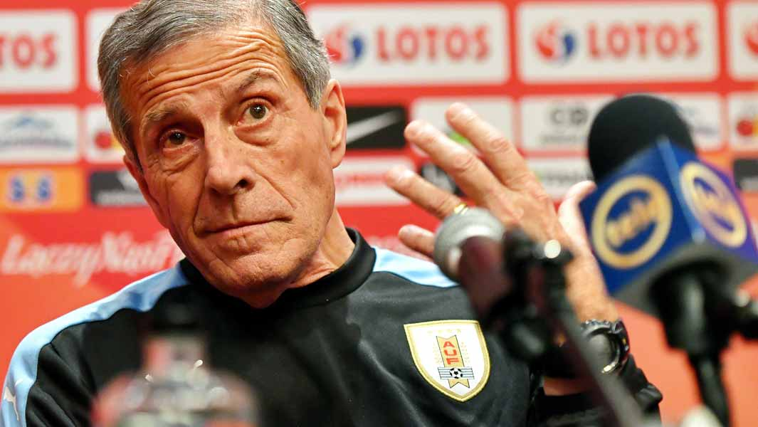 Uruguay coach Óscar Tabárez sets first record of 2018 FIFA World Cup