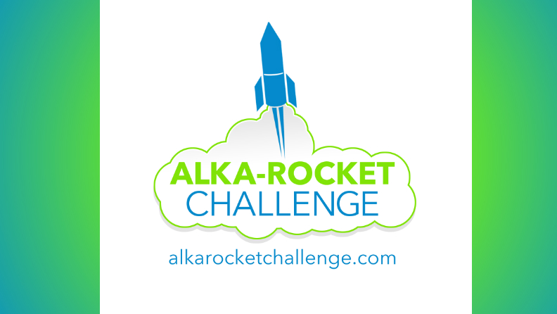 Finalists competing for Bayer's Guinness World Records Alka-Rocket Challenge