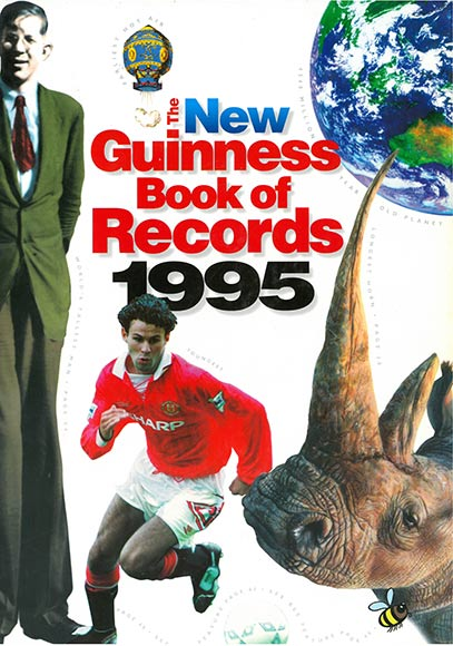 Ryan -giggs -1995-guinness -world -records -book