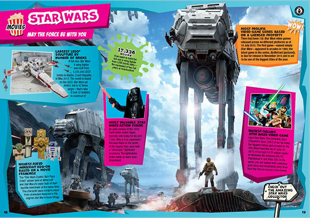 Star Wars spread Blockbusters