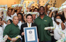 Subway sandwich artists whip up a new world record