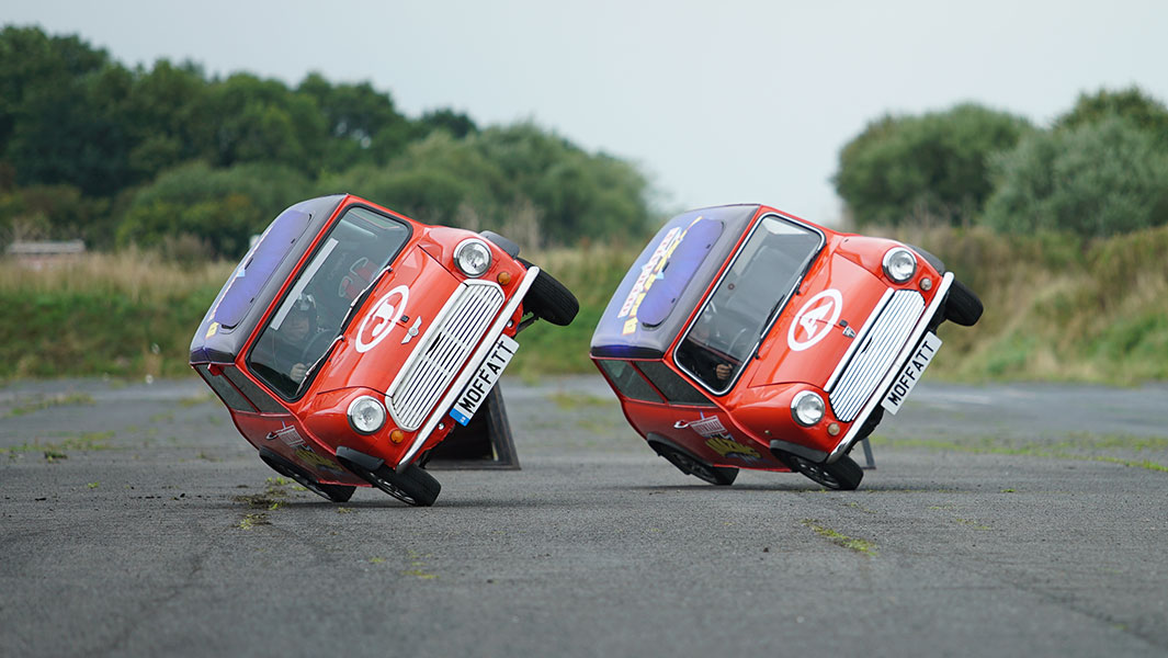 Video: Alastair Moffatt talks stunt driving and side-wheelies