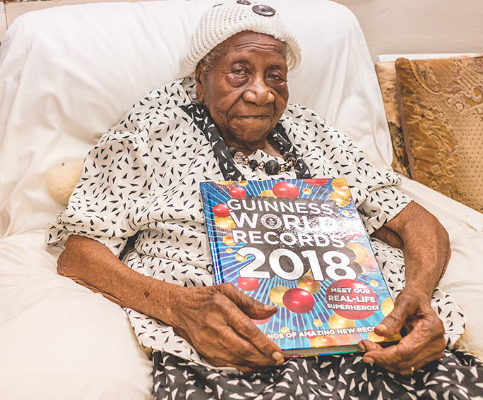 Violet Brown Guinness World Records 2018 book