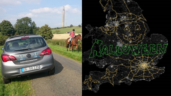Vauxhall puts Halloween on the map with spooky GPS record