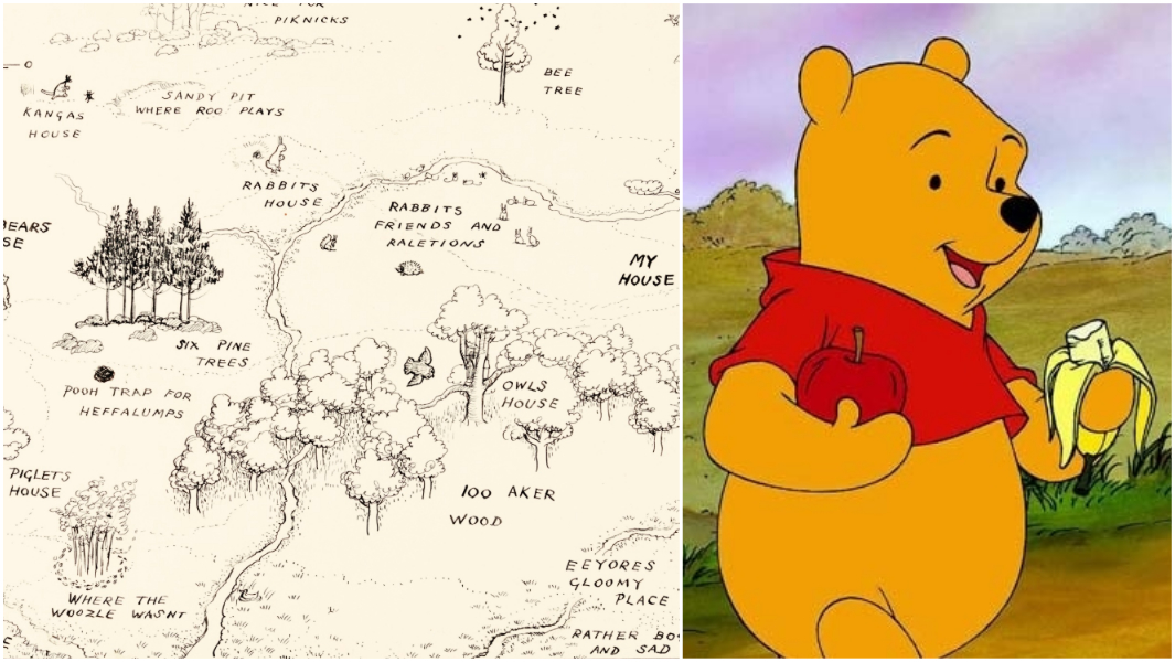 It's just a graphic of Playful Pics of Winny the Pooh