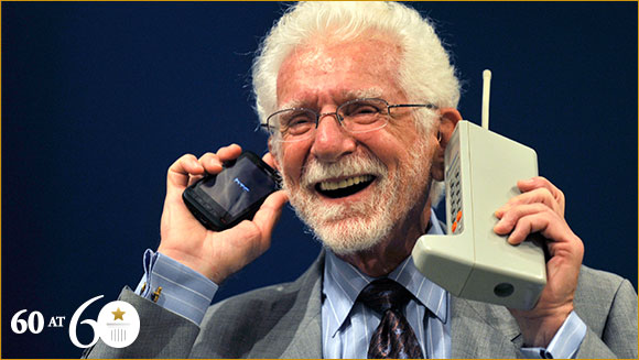 1973 First Mobile Phone Call Guinness World Records