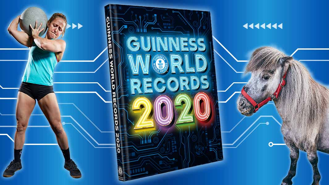 Power your Curiosity: Introducing the stars of Guinness World Records 2020