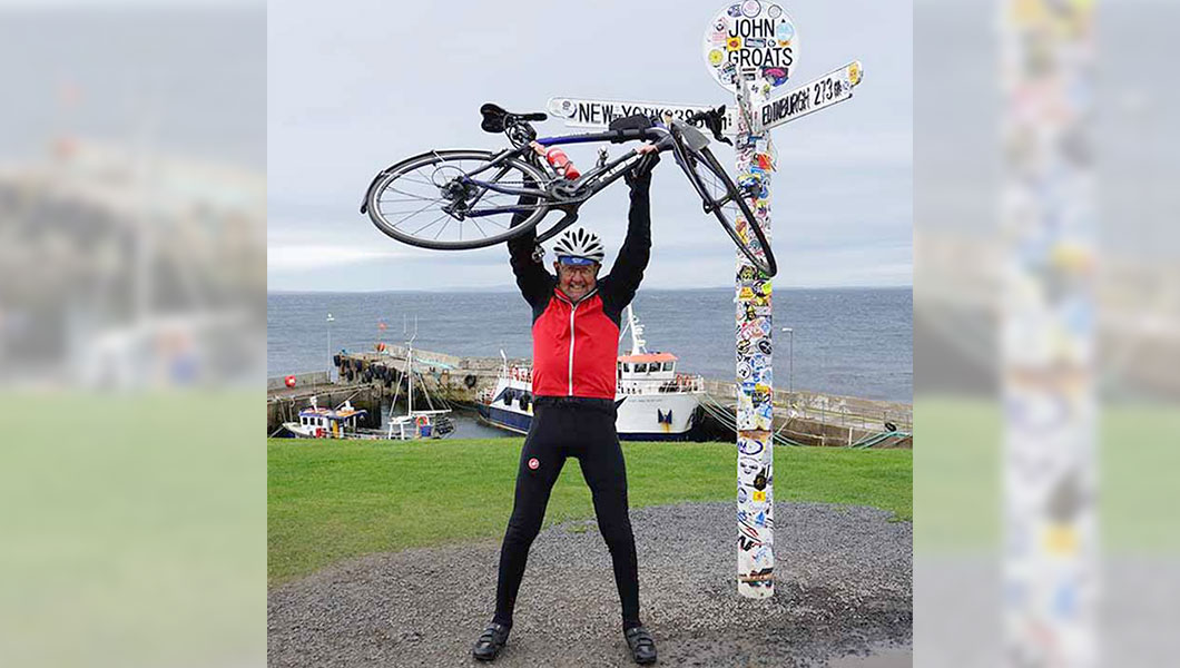 Meet the 85-year-old who cycled over 1,000 miles in 17 days