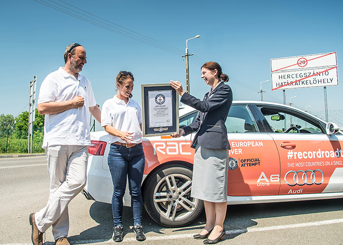 Audi and RAC receive certificate