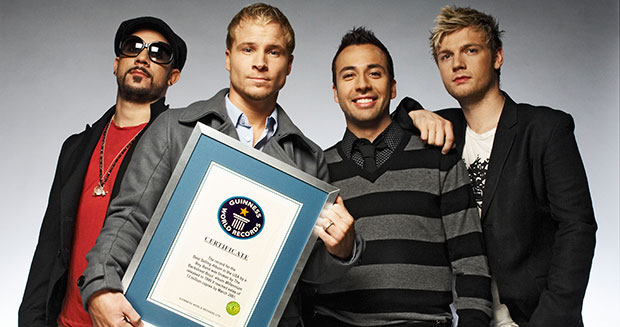 Backstreet Boys Best-selling album in the USA by a boyband