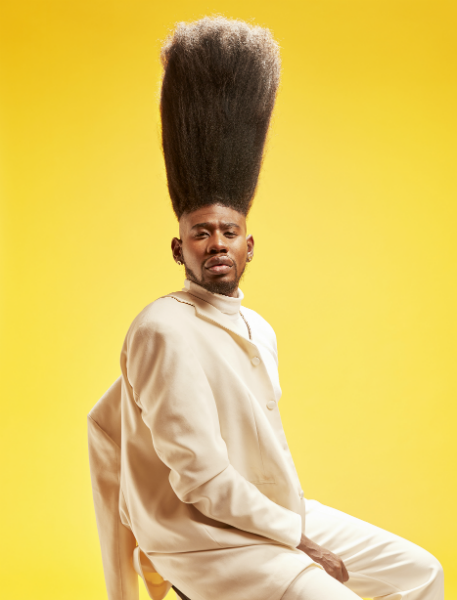 Benny Harlem enters the record books with his 20.5 inch high top ...