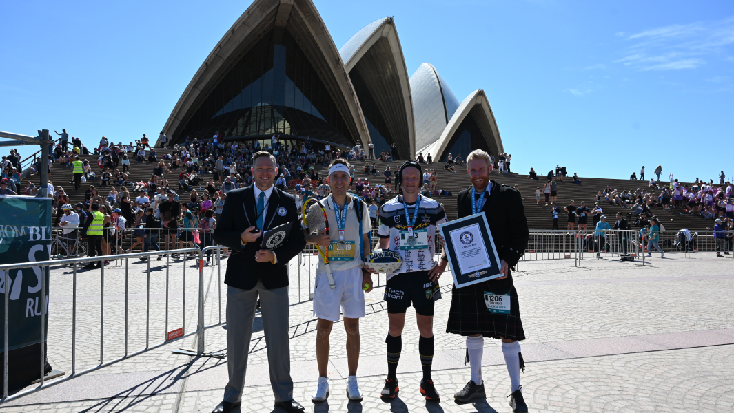 Four Guinness World Records titles broken at Blackmores Sydney Running Festival 2019