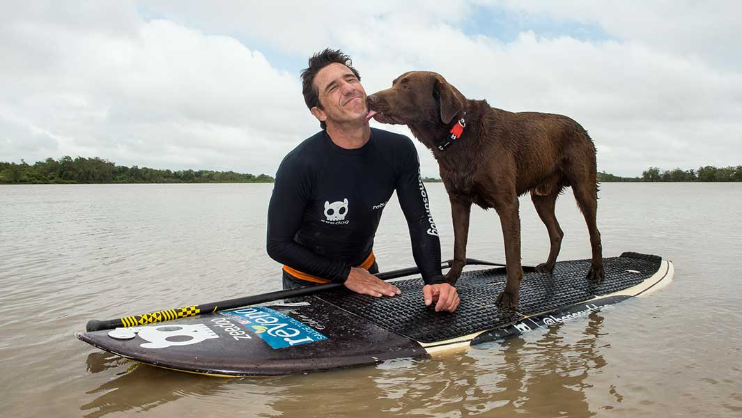 Monday Motivation: How a man and his dog set a paddleboarding record in Brazil